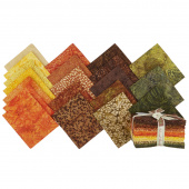 Autumn Harvest Batiks Fat Quarter Bundle