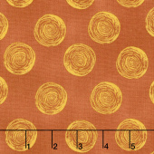 Makers Home - Ranunculus Copper Yardage