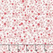 Katie Jane - Tonal Floral Pink Yardage