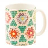 Hexagons Vintage Quilt Mug