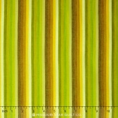 Kaffe Wovens - Multi Stripe Lime Yardage