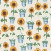 Sunflower Market - Sunflowers Sand Yardage