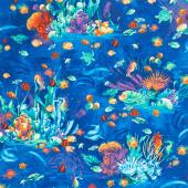 Ocean Magic - Magical Ocean Life Multi Yardage