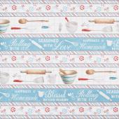Homemade Happiness - Repeating Stripe Multi Yardage