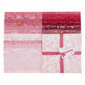 "Java Batiks Favorites Pinks 10"" Squares"