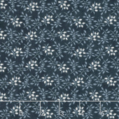 Holly Woods - Floret Midnight Yardage