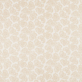 "Parlor Pretties - Foulard Paisley Beige 108"" Wide Backing  Yardage"