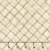 Ambrosia Farm - Basket Weave Tan Fabric Yardage