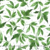 Prose - Leaves Ultra White Yardage