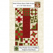 Winterberry Table Scraps Pattern