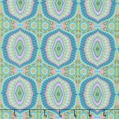 Night Music - Temple Tiles Dew Yardage