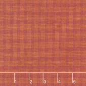 Primo Plaids - Lumber Jacks Small Check Rust Flannel Yardage