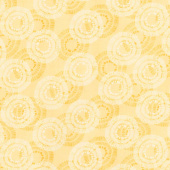Wilmington Essentials - Circle Burst Sunshine Yardage