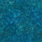 Artisan Batiks - Garden Style Grass Indigo Yardage