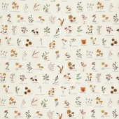 The Open Road - Roadside Wildflower Cream Yardage