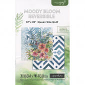 Moody Bloom Reversible Quilt Pattern