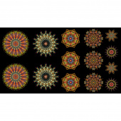 More is More - Medallions Multi Panel