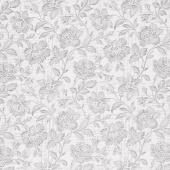 Memoirs - Flourish Script Porcelain Yardage