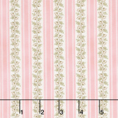 Eaton Place - Stripes Rose Yardage