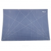 "Lori Holt's Cutting Mat - 24"" x 36"" Denim/Aqua"