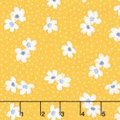 Sunshine Garden - Dots Yellow Yardage