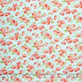 Little Ruby - Little Daisy Aqua Yardage