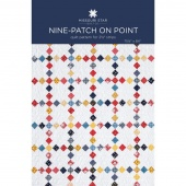 Nine Patch on Point Quilt Pattern by MSQC