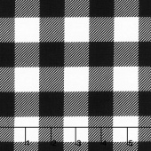 Modern Farmhouse - Buffalo Check Black Yardage