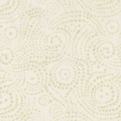Cream of the Crop Batiks - Swirly Dots Tan Yardage
