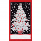 Winter's Grandeur 7 - Scarlet Silver Metallic Panel