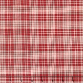 Atelier De France - Rouge Plaid Silky Woven Yardage