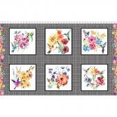 Hummingbird Lane - Block Multi Panel