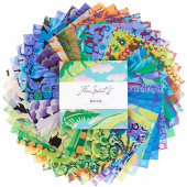Kaffe Fassett Collective February 2021 Cool Charm Pack