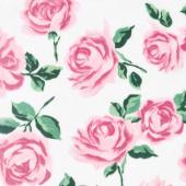"Cuddle Prints - La Vie En Rose Blush 60"" Minky Yardage"