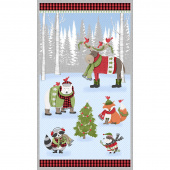 Cozy Critters - Large Multi Panel
