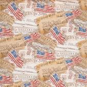 We the People - Declaration of Independence Multi Yardage