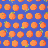 Kaffe Fassett Collective - February 2020 Cool Oranges Orange Yardage