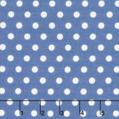 Harry & Alice - Dot Navy Yardage