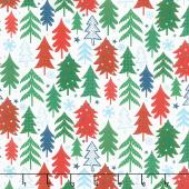 Jolly Season - Trees Snow Yardage