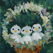 Nesting - Three Little Chirps Pattern