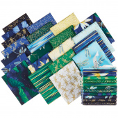Moonlight Serenade Metallic Fat Quarter Bundle
