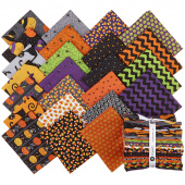 A Spooky Good Time Fat Quarter Bundle