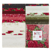 "A Festival of Roses 10"" Squares"