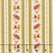 Bricolage - Ticking Stripe Ivory Yardage