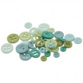 Lori Holt Cute Little Buttons - Meadow