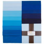 Kona Cotton - Waterfall Palette Ten Squares