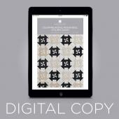 Digital Download - Disappearing Pinwheel Churn Dash Quilt Pattern by MSQC