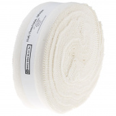 """Fluffy Solids Off White Flannel 2.5"""" Strips"""