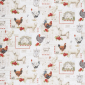 Down on the Farm - Animals Country Yardage