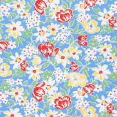 Sugar Sack II - Sweet Bouquet Cornflower Yardage